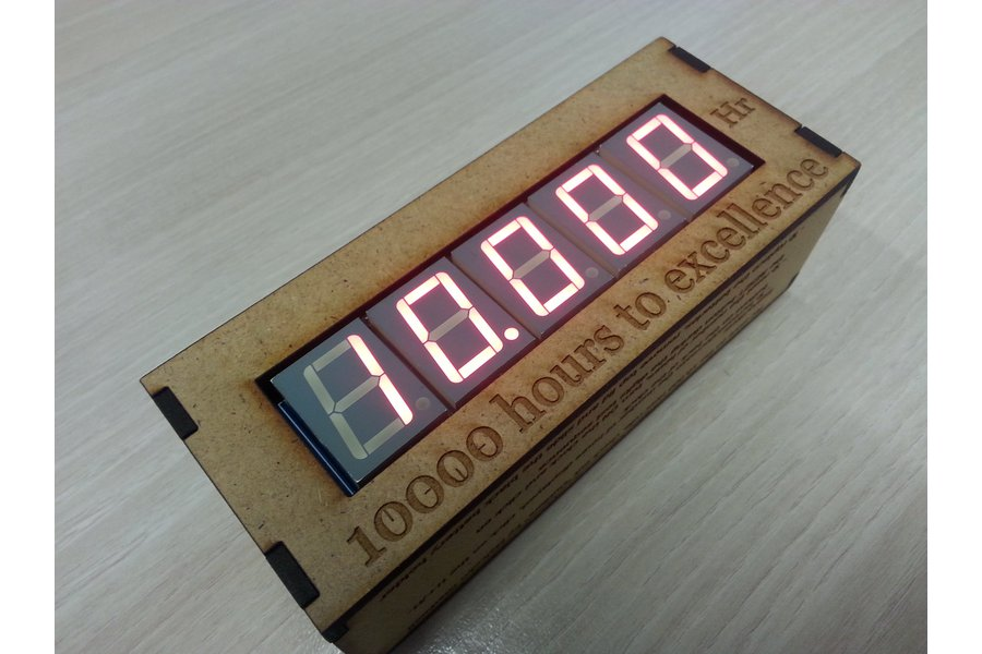 The 10,000 hours clock - KIT