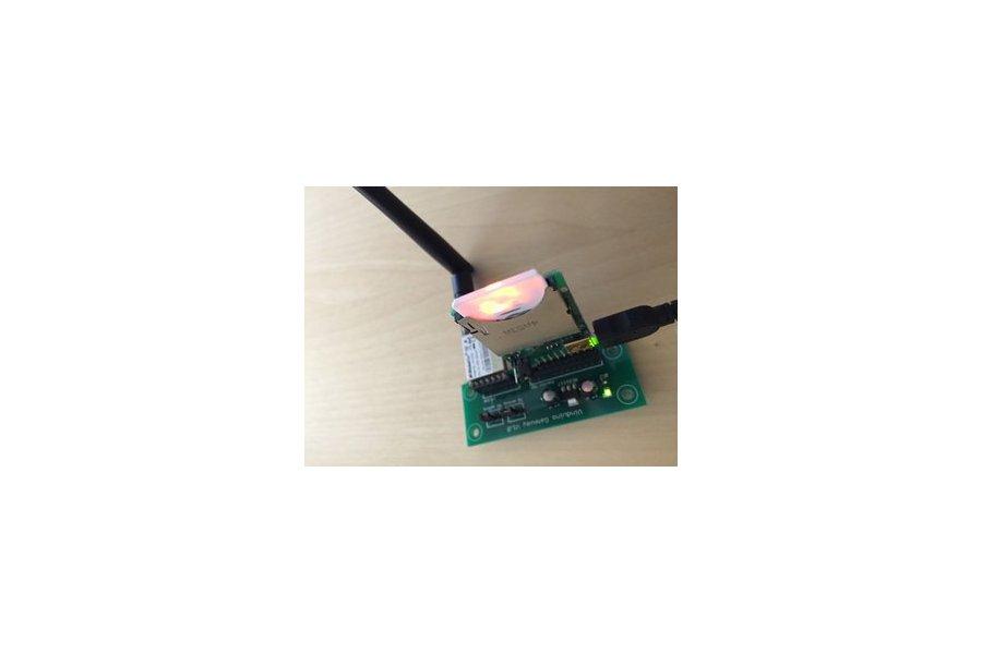 Vinduino Low-Cost LoRaLAN Gateway PCB