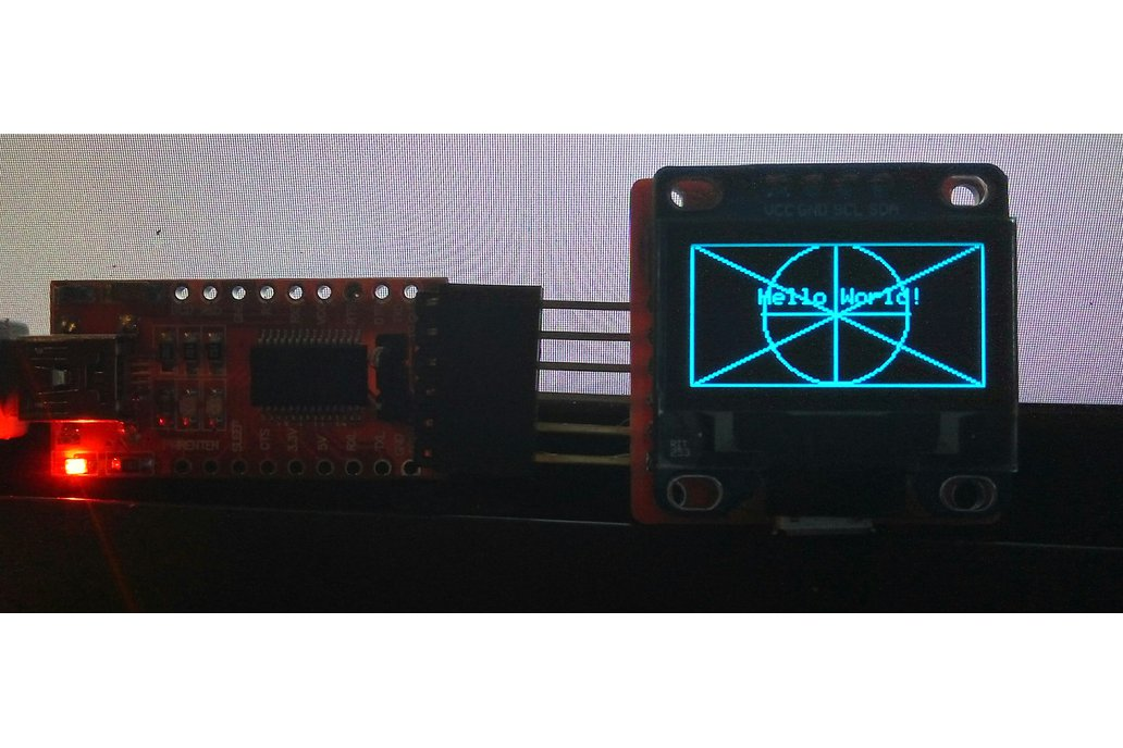 WiFi ESP8285 OLED Display Module 10