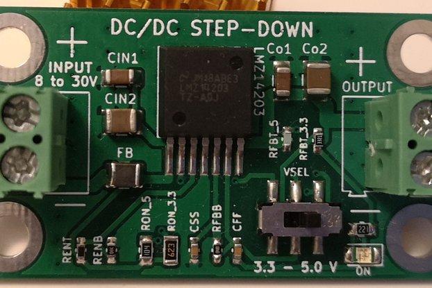 LMZ14203 Power Module 3.3V/5.0V@3A max FPGAs/MCUs