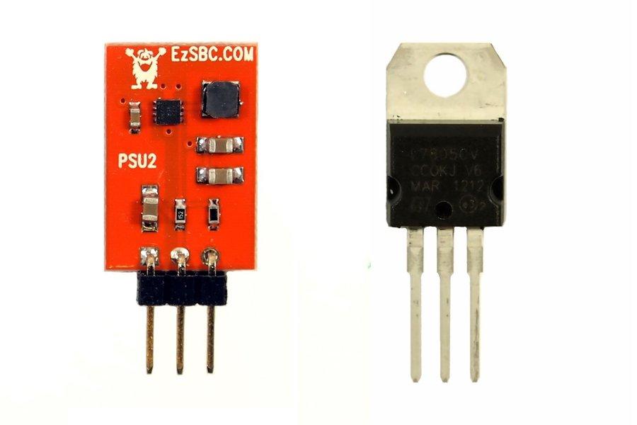 3.3V 1A Switch-Mode Voltage Regulator