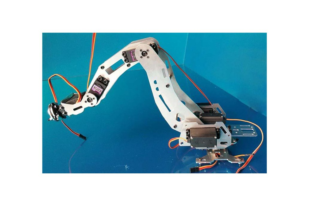 6 DoF Industrial Robot Arm Model 4