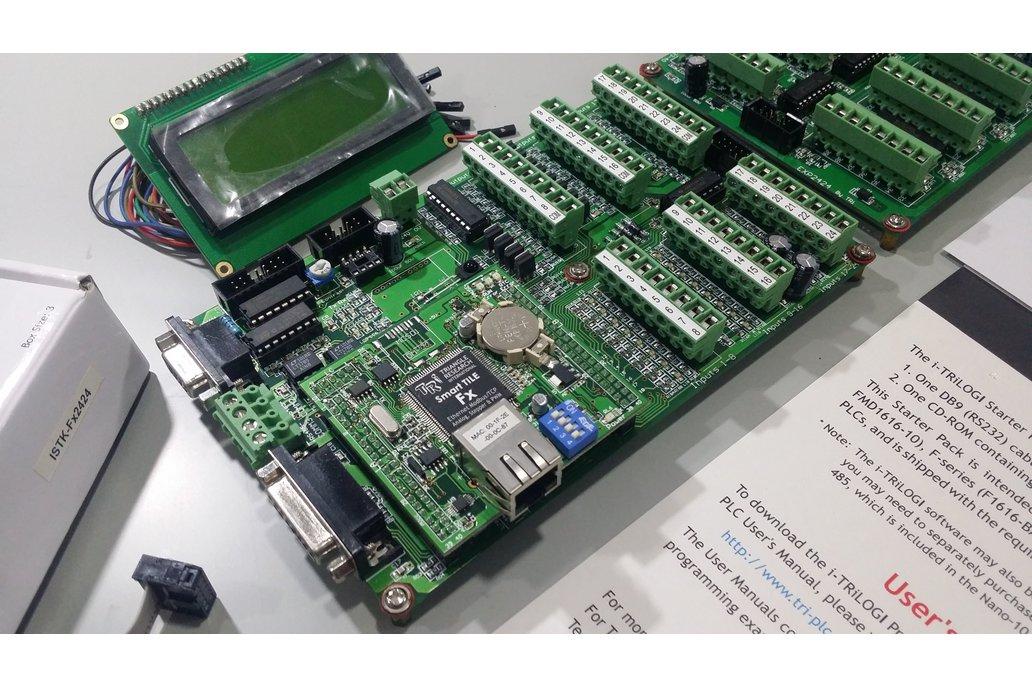 Smart Tile Fx2424 PLC and Expansion Board  12