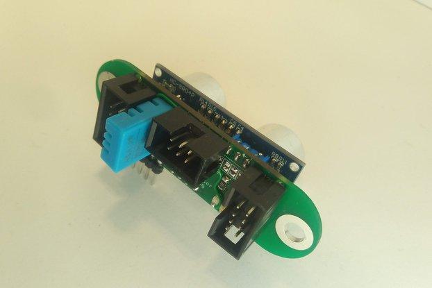 I2C Ultrasonic sensor with compensation