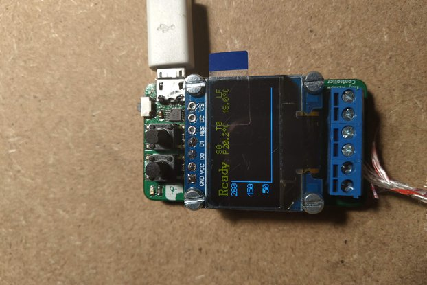 Tiny Reflow Controller and 3D filament dryer