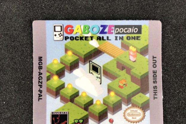 32teeth's GABOZE POCAIO Custom Cartridge sticker