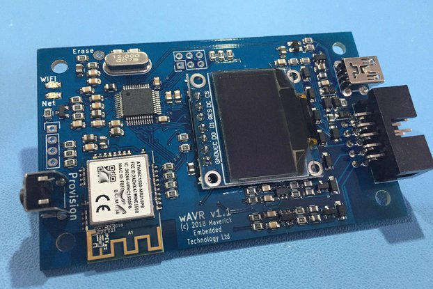 WiFi-Enabled AVR Programmer with Terminal Server