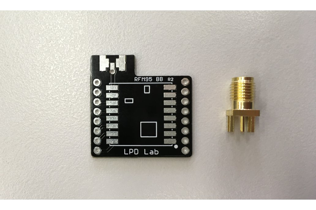 RFM95 Breakout Board + SMA Connector 1