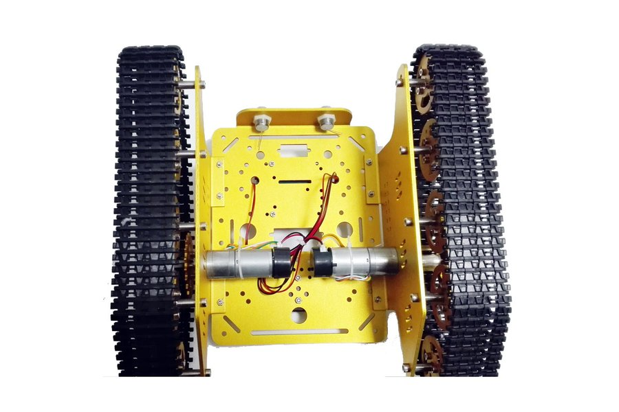 Wireless WiFi metal tank car chassis with arduino