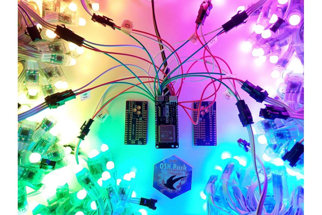 Wemos D32 ESP32 LED & Level Shifter Shield 2