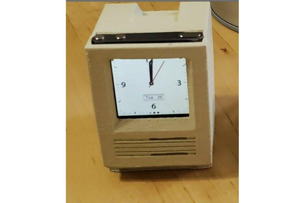 Retro computer classic clock-ipod clock 1