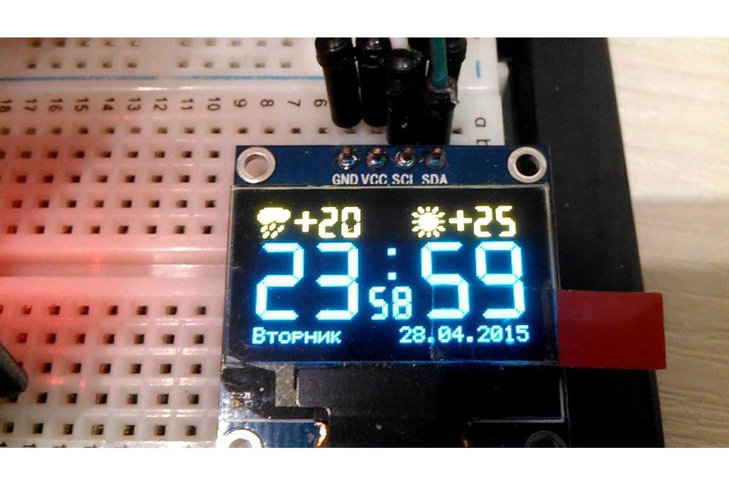 ESP8266 OLED breakout board 1