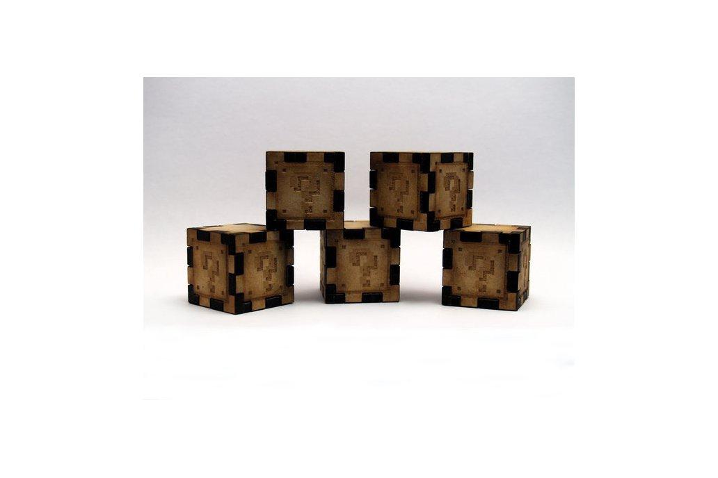 Mario Cubes - Lasercut 1