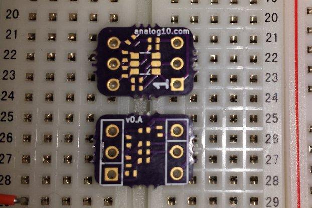 The Best Breakout Board: pin^2 SOT23-6 0402