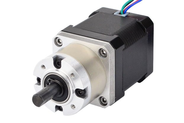 Nema 17 Stepper Motor 48mm Length w/ 5:1 Gearbox