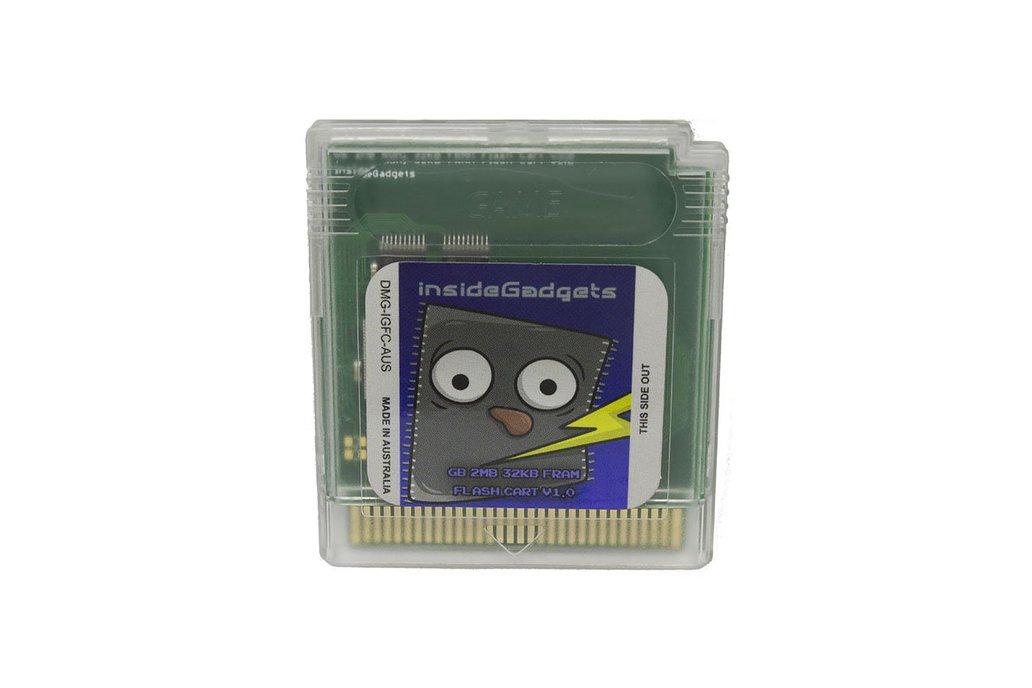 2MB, 32KB FRAM Flash Cart Gameboy 1