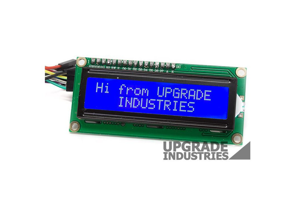 I2C 16x2 LCD Display 1