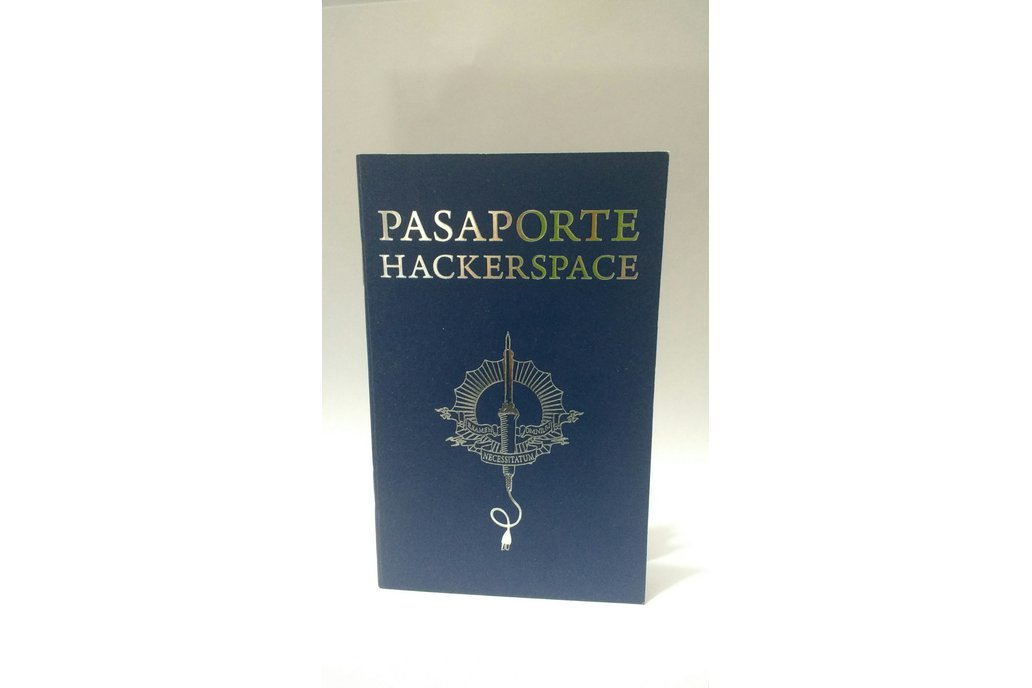 Hackerspace passport in Spanish 1