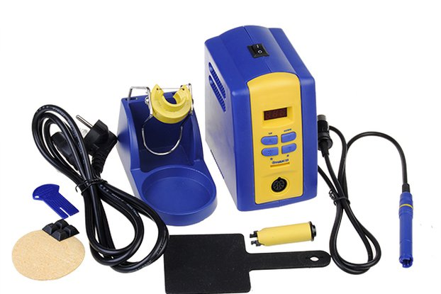 EU Plug Soldering Iron Station with Tip