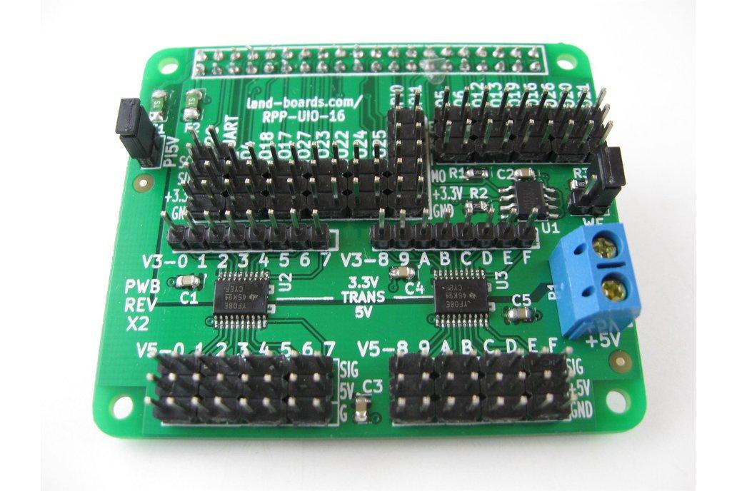 Raspberry Pi - Universal I/O Hat (RPP-UIO-16) 1