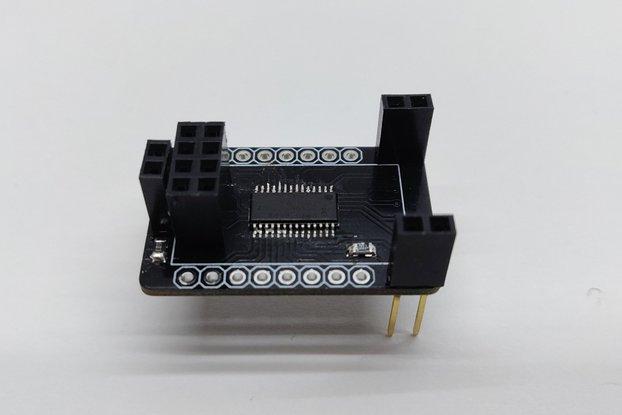 ESP8266-01  -  16 channel PWM expander (PCA9685)