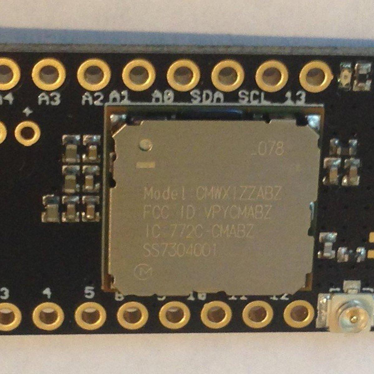 Grasshopper LoRa/LoRaWAN Development Board from Tlera Corp