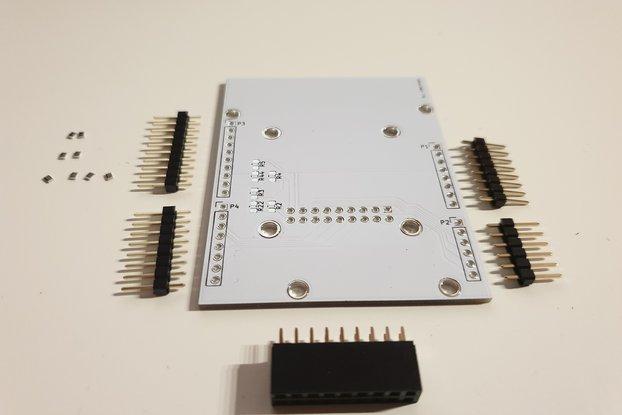 Arduino UNO OV7670 Coupler