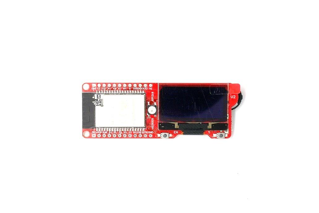 DSTIKE WiFi Packet MonitorV3 PCB antenna version 1