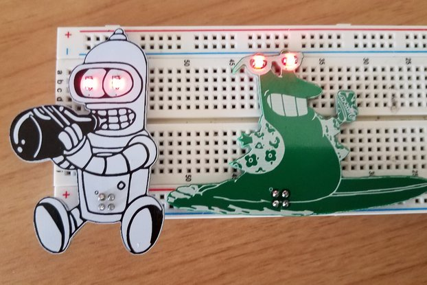 SqearlSalazar Badgelife Two Piece Add-on Set