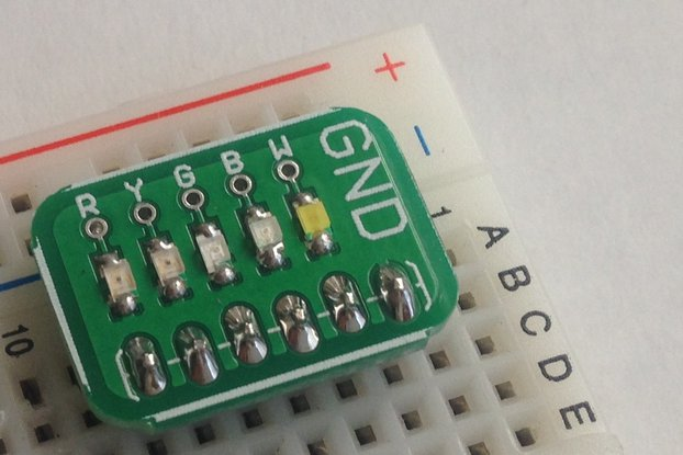 Surface Mount LED Board: Assembled or Kit