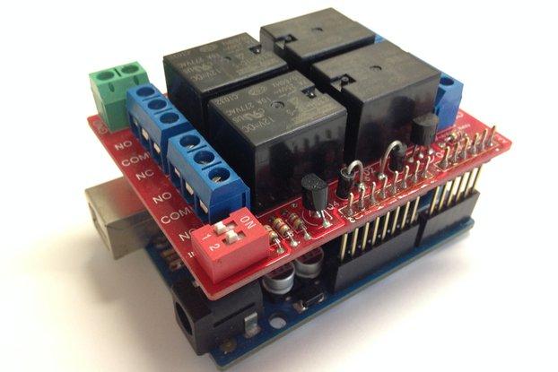 Arduino Relay Shield Kit, 9v