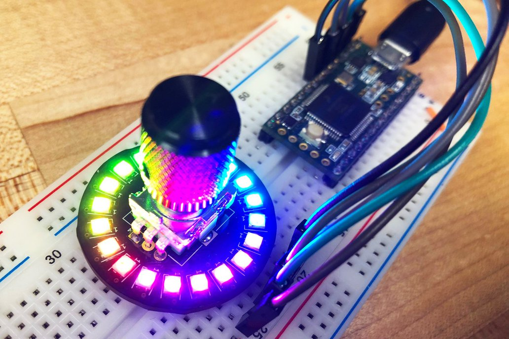Neopixel Rotary Encoder