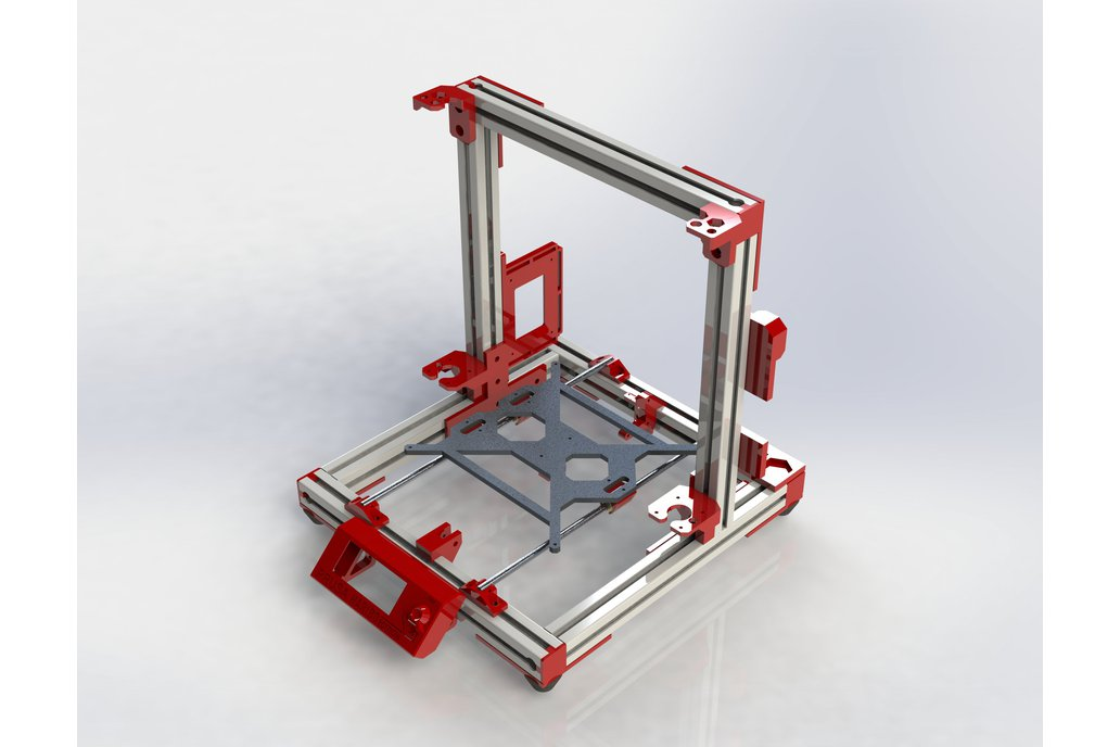 Haribo3030 printed parts only 2