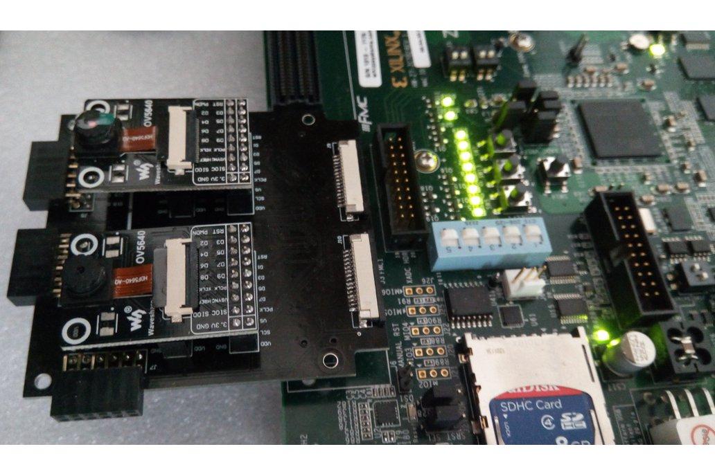 DVP/MIPI Stereo Camera FMC 1