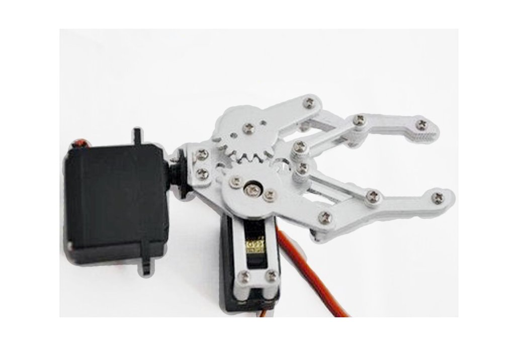 Metal Robotic Arm Gripper with Optional Servo 7