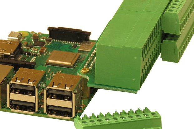 Heavy Duty BREAK-OUT Card Type 3 for Raspberry Pi
