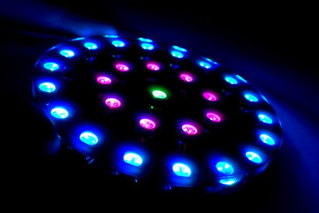 DIY Wearable RGB LED Crystal Energy Ring Kit