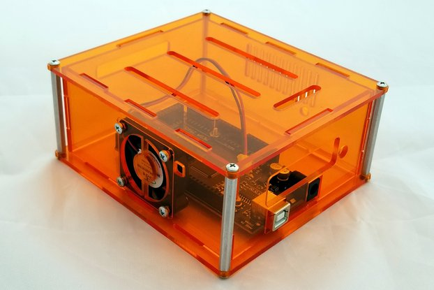 "Arduino Project Enclosure with fan- ""Mega-II"""