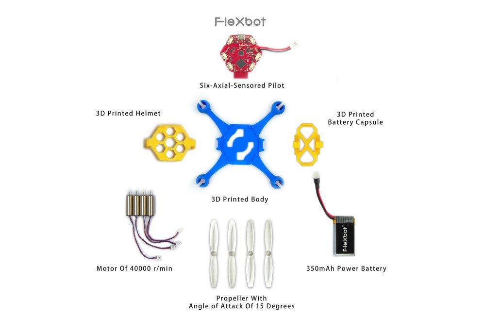 Flexbot Quadcopter Kit 1