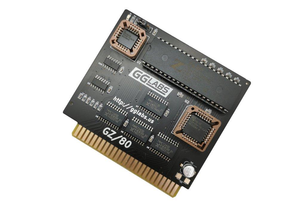 GZ/80 - Turbo CP/M Softcard Z80 for Apple IIe IIgs 1