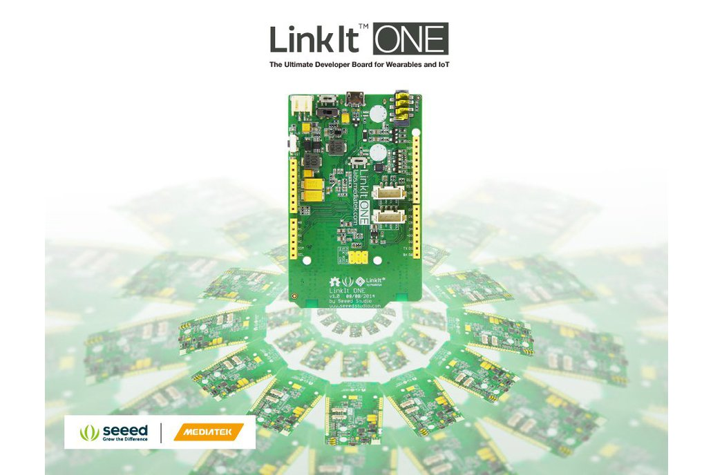 LinkIt ONE  IoT Devices MCU GSM GPS BLE WIFI GPRS  4