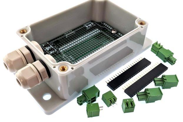 qBox Pi Pico DIY IOT Enclosure Kit