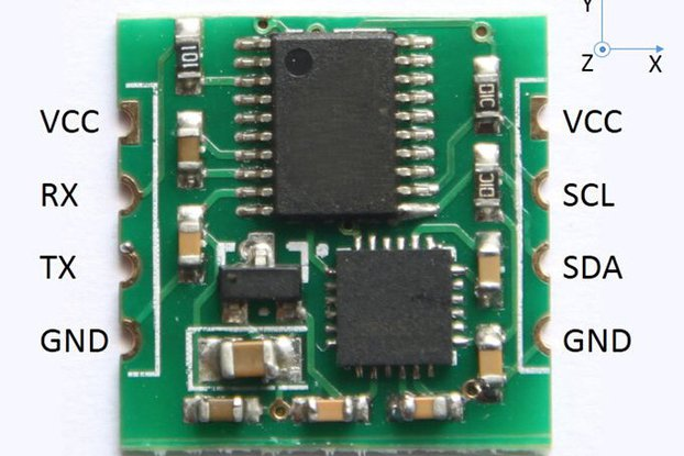 Six axis gyroscope sensor