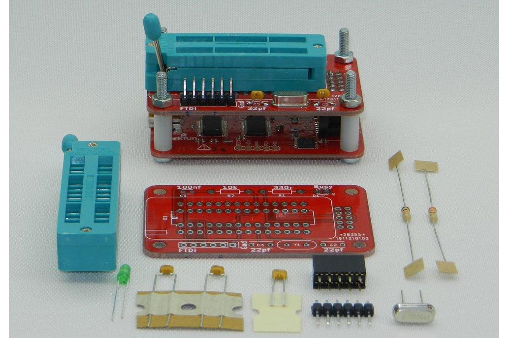 ATMEGA328 Programmer for Bus Pirate 3.6 3