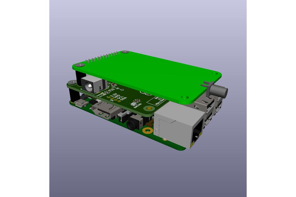 RAK831 Raspberry Pi Breakout/Backplane 8
