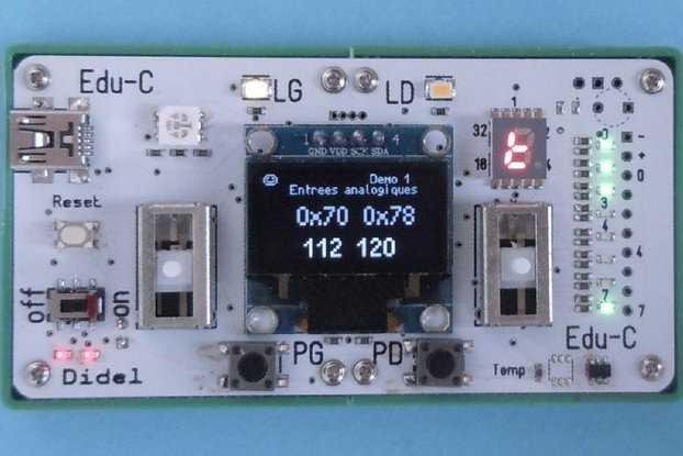 Edu-C: Learn to program  and play your own games