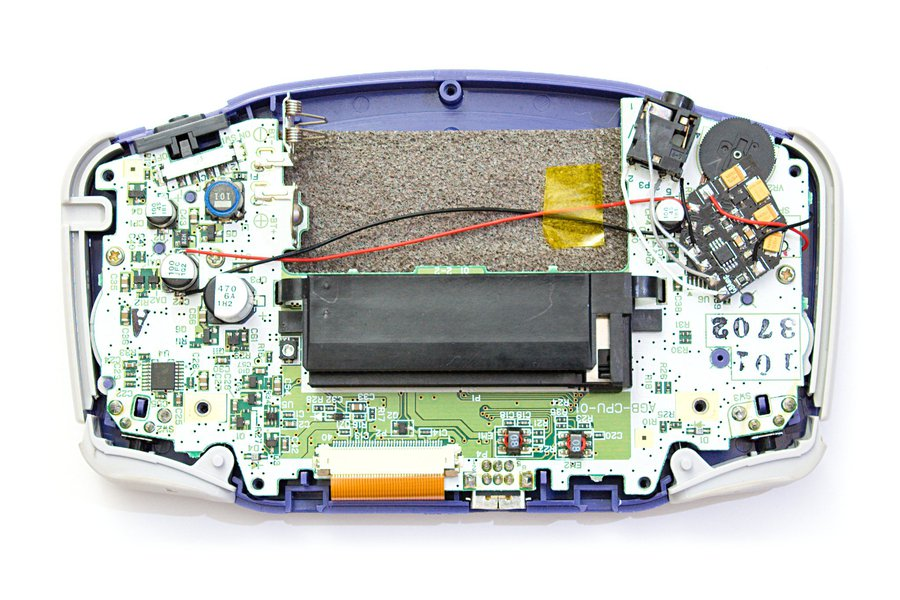 GBAmp3 sound mod for Game Boy