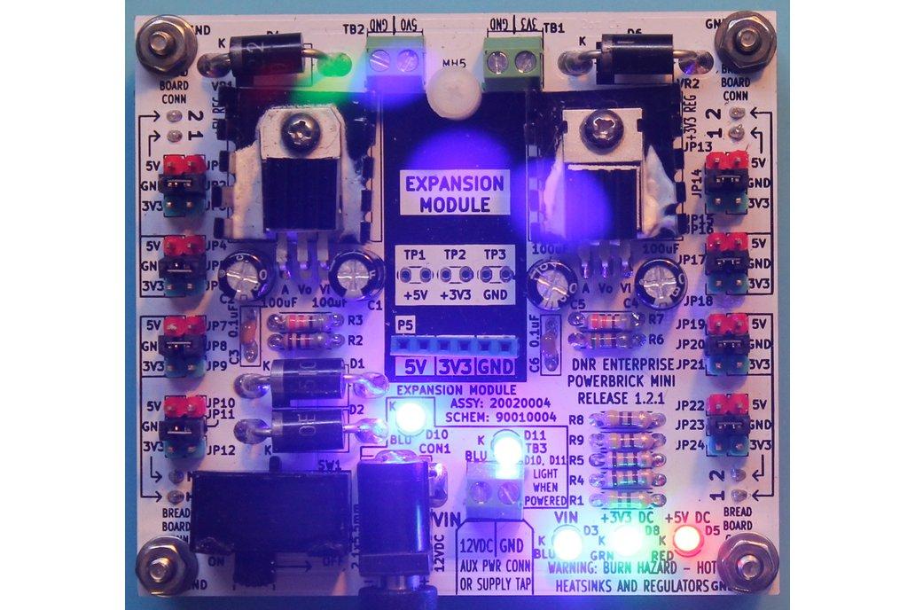 PowerBrick Mini - Two Regulator Power Supply 1