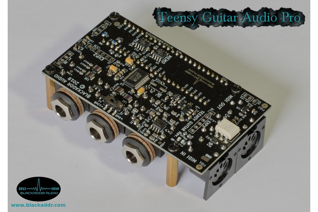 Arduino Teensy Guitar Audio Shield