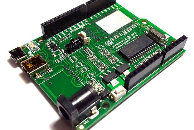 iCP12A - 5mV DAQduino (6 Ch USB Oscilloscope)